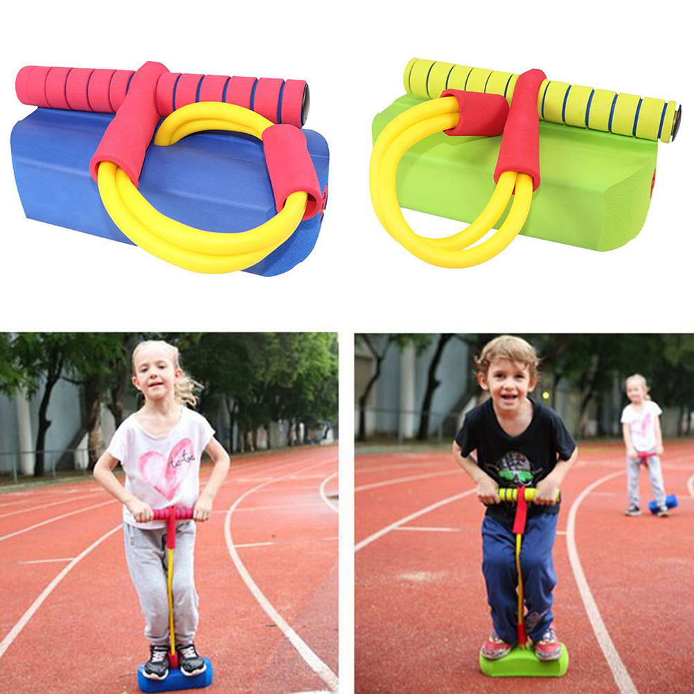 Jumping-Stick Sport-Tools Gym Kids And for Adults Jumper Accessories Foam Safe Fun