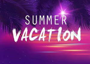 Image 4 - Fondo de vacaciones de verano de 7x5 pies telón de fondo de foto de Color Ultra violeta árbol de coco rama fotografía fondo de estudio Props