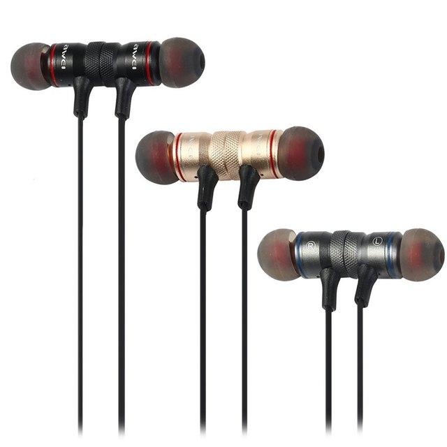 Original a920bl awei en la oreja wireless deportes auriculares bluetooth 4.1 conexión con reducción de ruido de micrófono de voz para correr al por menor