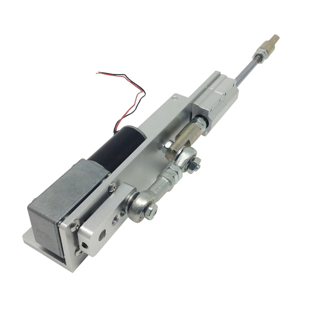 DC 12V 30mm Stroke 1kg Linear Actuator Reciprocating Motor DIY Design Linear Cycle Speed Optional dental endodontic root canal endo motor wireless reciprocating 16 1 reduction