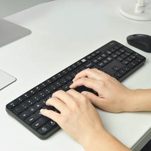 Image 2 - Original MIIIW 2.4GHz Wireless Office Keyboard Mouse Set 104 Keys for xiaomi Mouse Windows Mac Waterproof Portable USB Keyboard