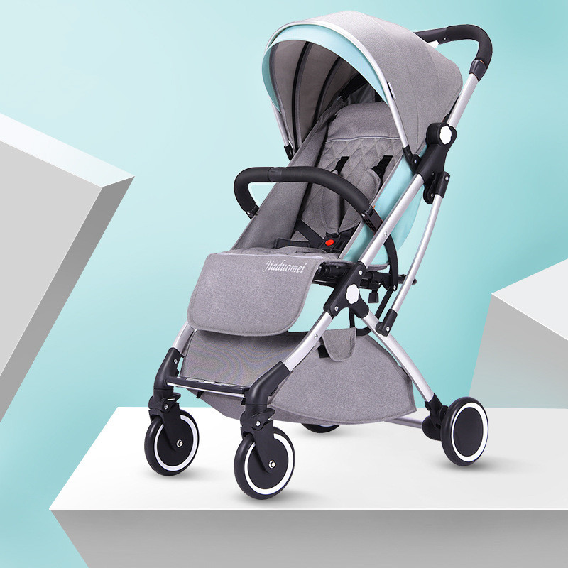 Luxury Lightweight Baby Stroller Bebek Arabasi Foldable Portable Baby Trolley Traveling Pram Pushchair High Landscape StrollerLuxury Lightweight Baby Stroller Bebek Arabasi Foldable Portable Baby Trolley Traveling Pram Pushchair High Landscape Stroller