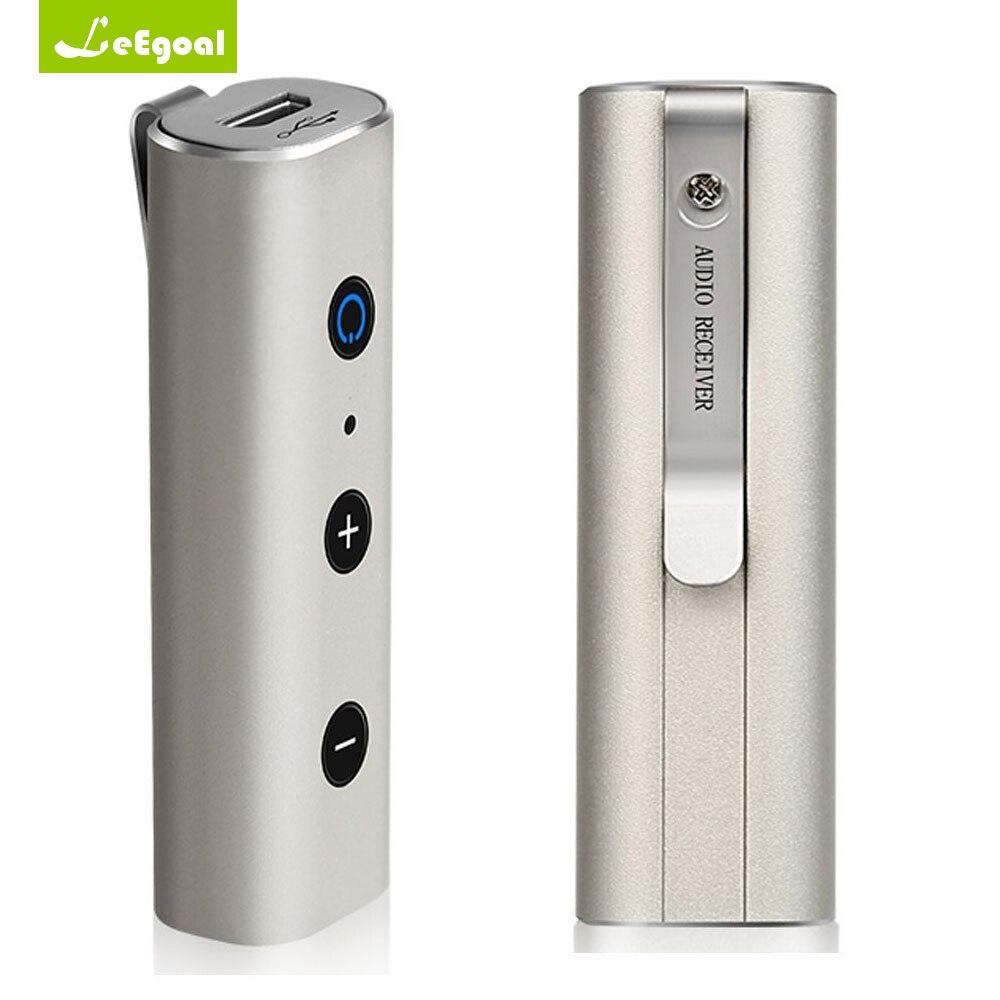 BT810 Sans Fil Bluetooth Récepteur Haut-Parleur pour Téléphone Mini Bluetooth Casque De Voiture Musique Récepteur Avec 3.5mm Mains Libres Écouteur
