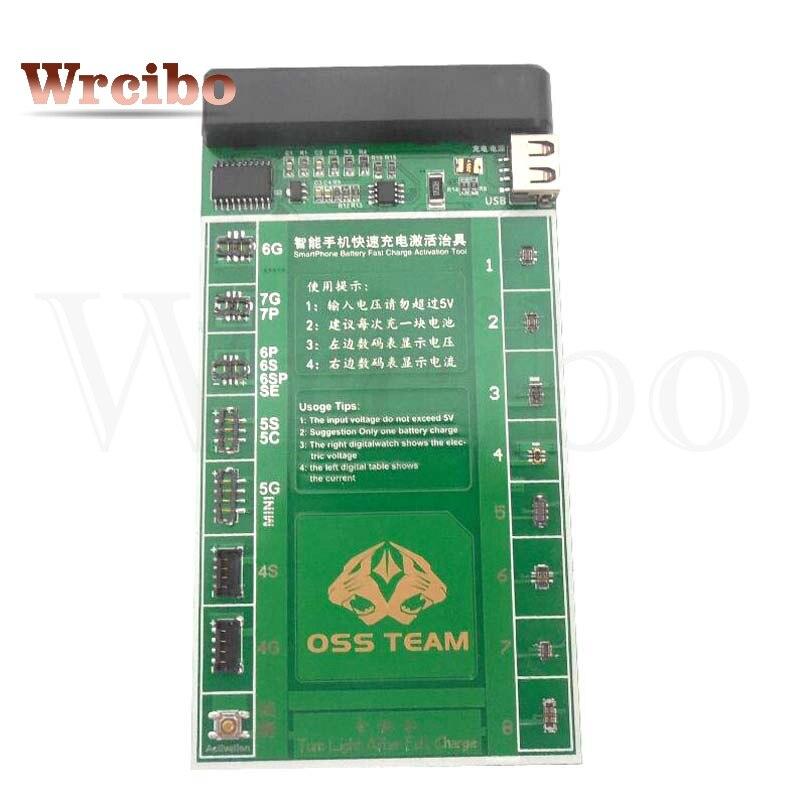 Цена за Wrcibo последний профессиональный активации батареи заряд доска + кабель micro usb для iphone samsung xiaomi meizu oppo vivo и т. д.