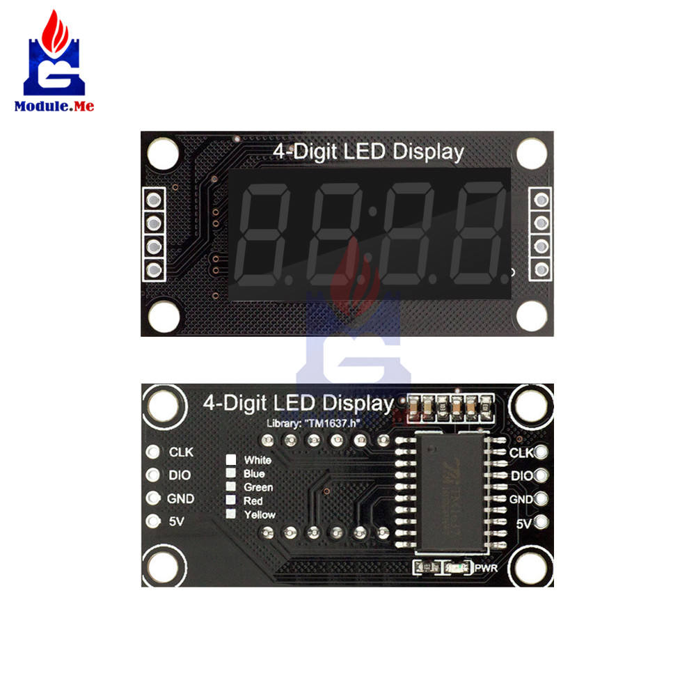 Detail Feedback Questions About 036 Inch 4 Digit Led 7 For Beginners Digital Clock With 7segments And Rtc 012660