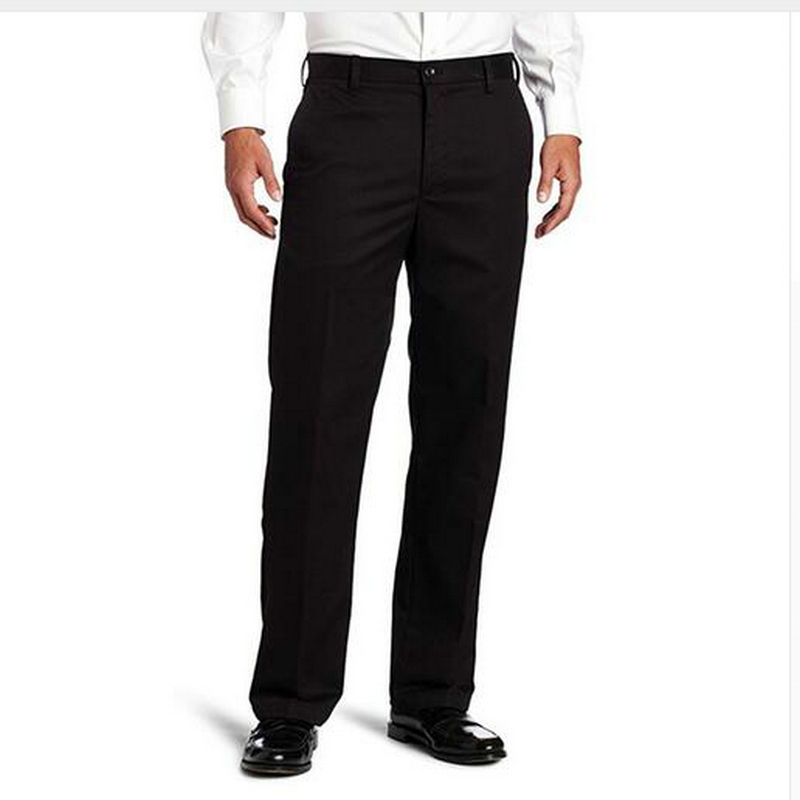 Custom Made New Formal Wedding Suit Pants Men's American Chino Flat Front Straight-Fit Pant Trousers Male Suit Pants