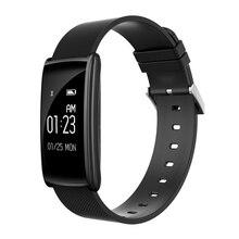Фитнес браслет сердечного ритма крови Давление крови кислородом часы Шагомер трекер Smart Band Bluetooth браслет для iOS и Android