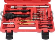 16 stücke Beschädigte Glühkerze Removal Entferner Thread Repair Auto Garage Tool Kit Set