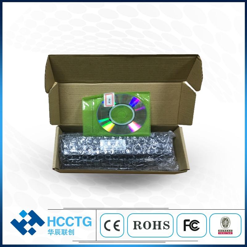 Lecteur de carte Rfid magnétique USB tout en un 1/2/3 pour puce MSR & IC et carte Psam HCC-110 - 6