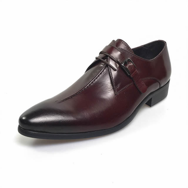 placeholder GRIMENTIN Fashion genuine leather men shoes dress black brown  wedding casual male shoes 2017 71121e2ddbff