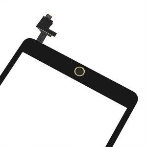 Image 4 - Voll Getestet Digitizer Touchscreen Für Apple iPad mini 1 A1432 A1454 A1455 Front Glas Objektiv mit Home Button + IC
