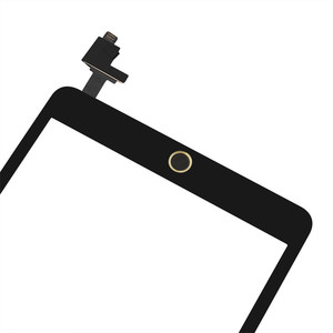 Image 4 - フルテストデジタイザアップルの iPad ミニ 1 A1432 A1454 A1455 フロントガラスレンズとホームボタン + IC