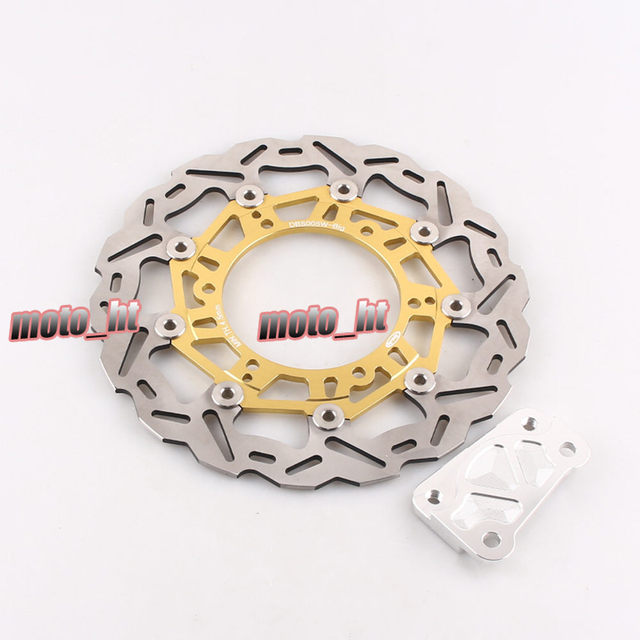 For YP Majesty 250 Rear Drum Model 1996-1977 / YP Majesty DX 98-99 / YP Majesty DX / ABS 250 99-05 Front Brake Disc Rotor Gold
