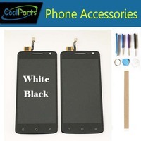 1PC/Lot 5.0 Inch For Dexp Ixion ML150 Amper M ML150 ML250 LCD Display Screen+Touch Screen Digitizer White Black Color+Tape&Tool