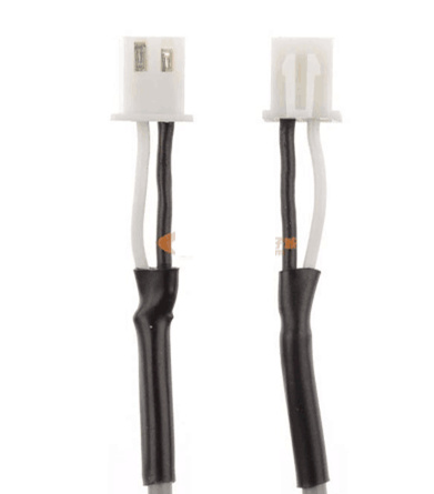 10PCS Quality Built-in Machine Signal Line Single Core Shielded Wire 2.54MM Double Head 2PIN Plug Audio Cable Length 35/50CM