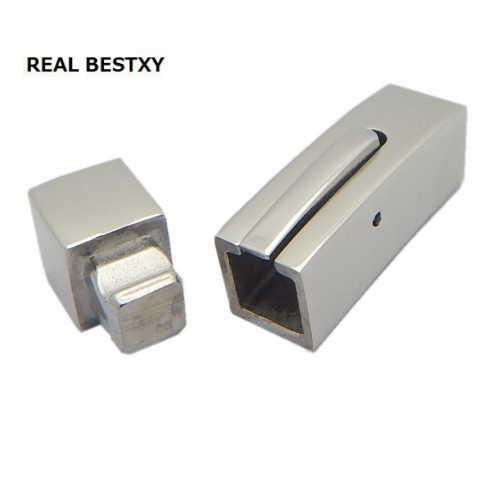 จริงBESTXY 10ชิ้น/ล็อตรอบสแตนเลสจีบตะขอสายไฟEnd Capsเหมาะสำหรับ3/4มิลลิเมตรสายหนังพบเครื่องประดับ