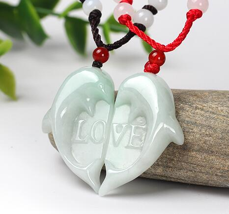 The testimony of love gift lovely two dolphins heart-shaped pendant charm men and women lovers style dolphins 1 how s the weather