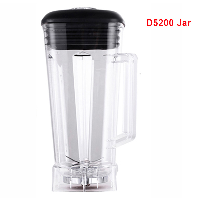 D5200 Blender mixer spare parts 2L Square Container Jar Jug Pitcher Cup bottom with serrated smoothies