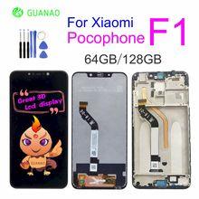 2018 оригинальный новый для Xiaomi Pocophone F1 ЖК-дисплей Дисплей Сенсорный экран планшета Ассамблеи для Xiaomi Pocophone F1 ЖК-дисплей сменный экран