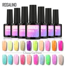 ROSALIND Brand Glitter Beauty Gel Nail Polish Varnish 10ML Soak-off Nail Gel UV Gel Polish Semi Permanent Long Lasting Nail Art