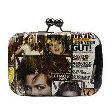 Frauen Magazin Kupplung Geldbörsen Partei Kleinen Handtaschen Kette Schulter Handtasche Handytasche Hochzeit Abendtaschen Bolsa Pequena