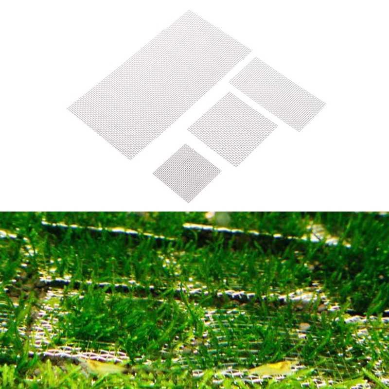 パッド水生苔植物ステンレススチール水槽装飾水族館ワイヤーメッシュ