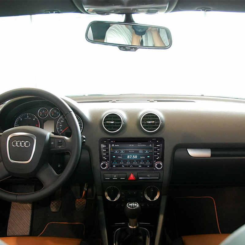 2 喧騒車のマルチメディアプレーヤー AutoRadio アウディ A3 8 1080P S3 RS3 スポーツバック 2003 2004 2005 2006 2007 2008 2009 2010 2011DVD ナビゲーション