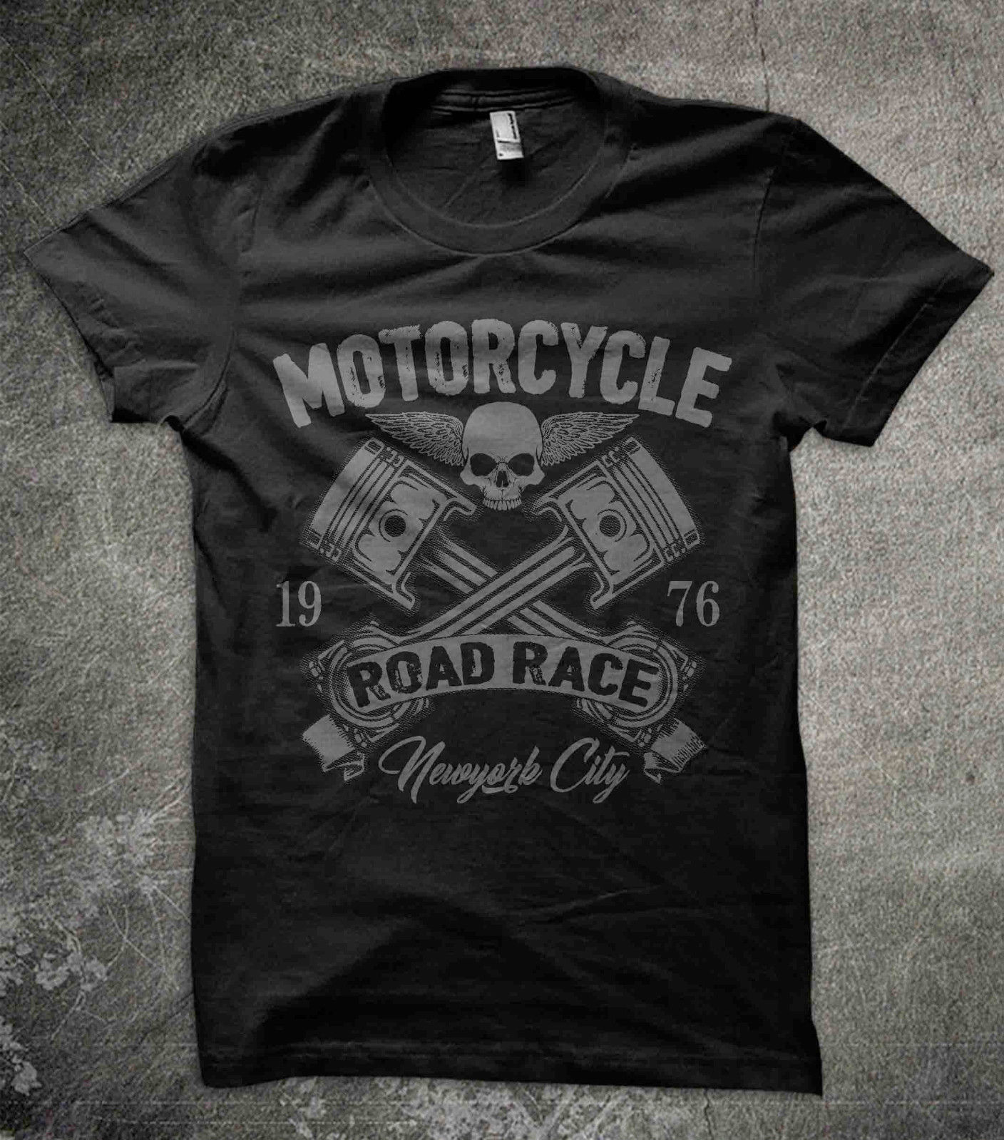 Moto CAFE RACER Inspiré Motobike Vintage Rétro Homme Hot Rod 8 T Shirt