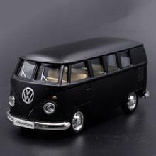 1:36 V Van Pull Back Classic Model toy cars High Simulation Retro car toys for children
