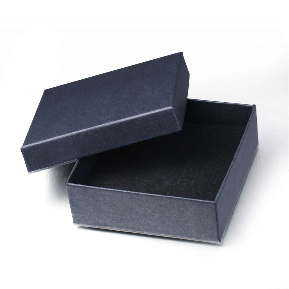 ROMAD Black Color Jewelry Package Paper Box Gift Boxes Wholesale Dropship 5*5*3.5cm 9*9*3cm Size R0.5