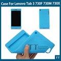 Для Lenovo Tab 3 730 футляр: Мягкий силиконовый чехол для Lenovo Tab 3 730F 730 М 730X7 inch tablet пк