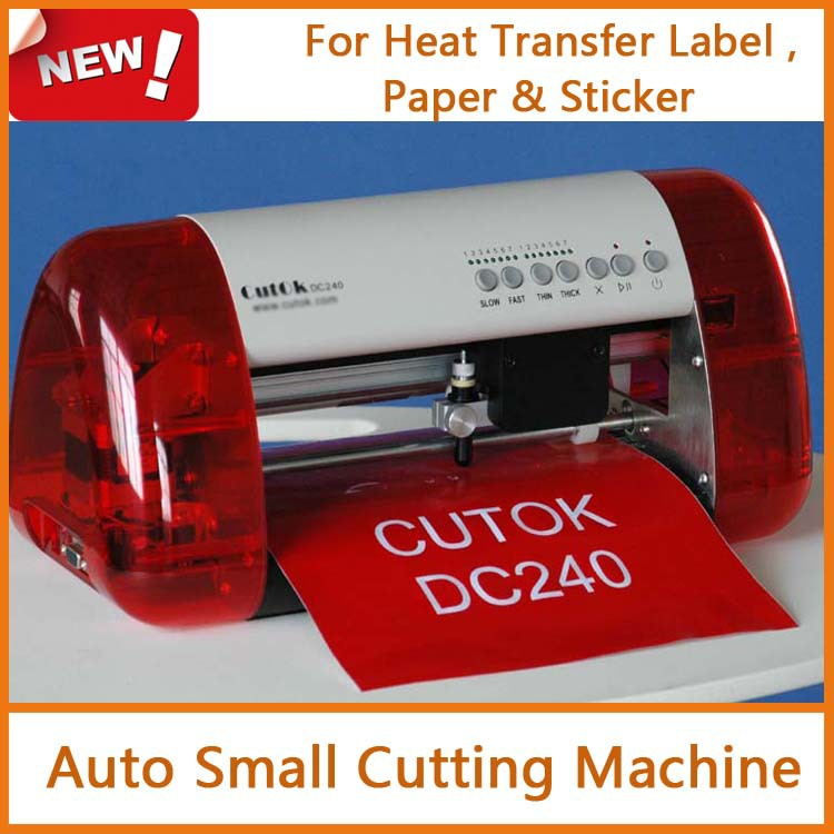 portable small auto cutting machine for paper sticker and