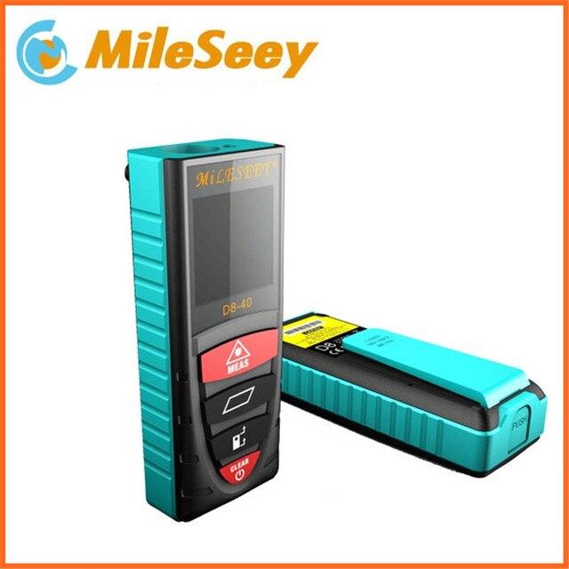 Digital Laser Measurement Analysis Instruments D8 40m Rangefinder Laser Distance Digital Meter Blue Measuring Tools telemeter