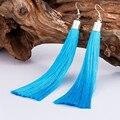Для женщин девочек Богемские серьги-подвески бахрома Молния Серьги себе длинные серьги кисточкой - фото