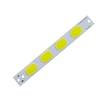 Gran promoción 3v 5w L153x18mm luz blanca cob led lámpara 500lm 1500MA COB fuente de luz para bicicleta luz 100 piezas