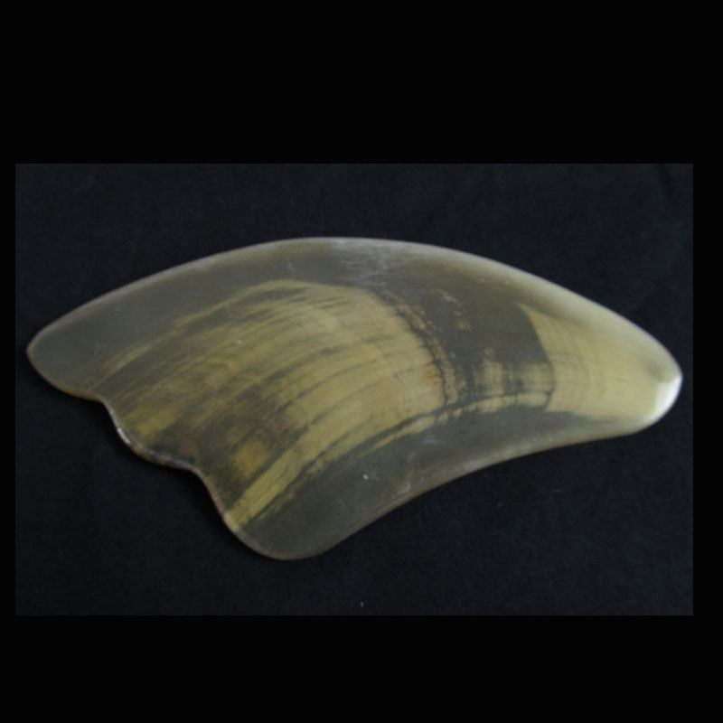 cow horn guasha board Guasha Massage Tool Healthy Physiotherapy Personal Care