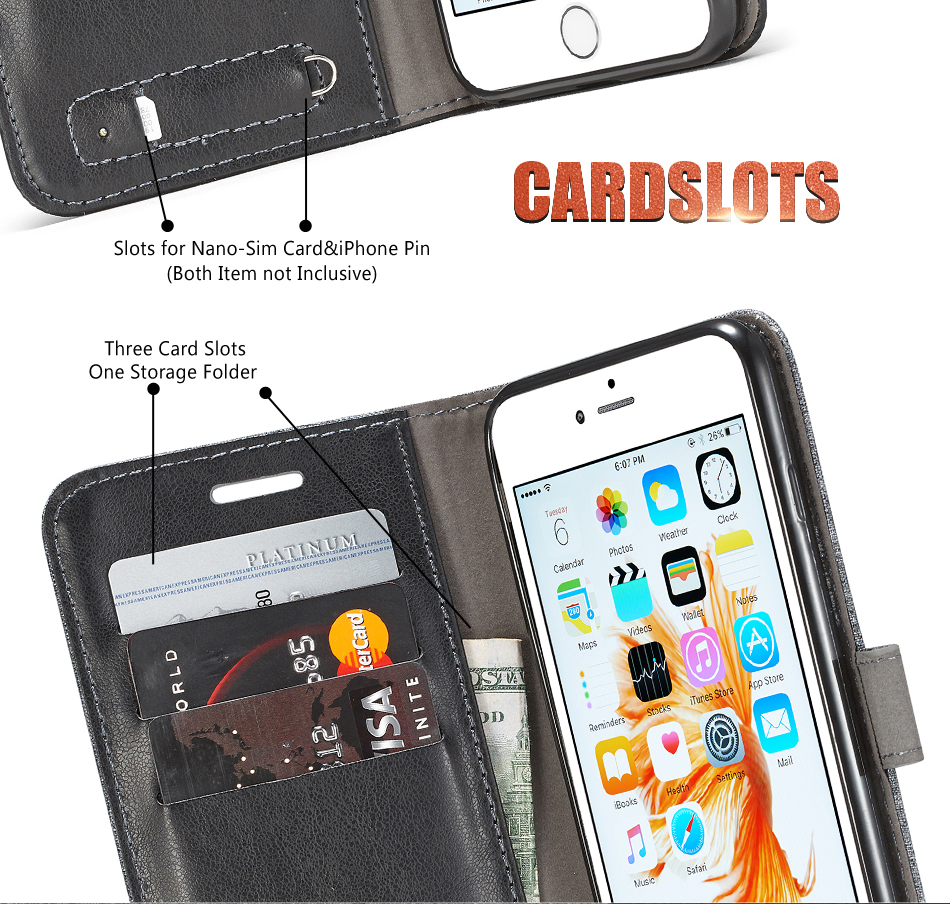 Samsung Galaxy S7 / S7 Edge Canvas Wallet Case