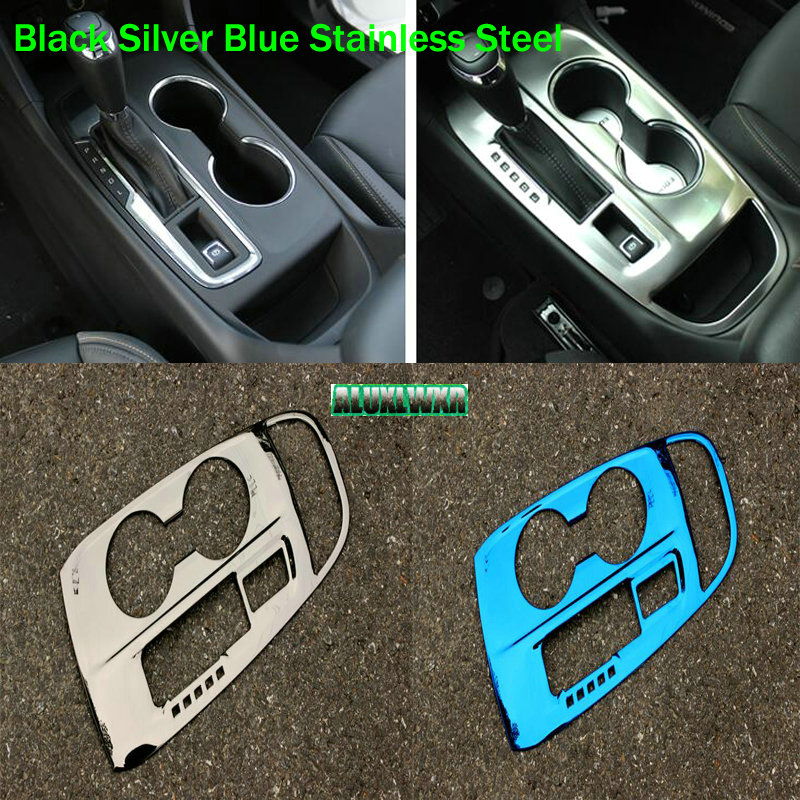 US $17 93 31% OFF|Left Drive Only Car interior gear gearbox decoration  cover trim for Chevrolet Holden Equinox Third GE 2018 2019 auto  Accessories-in