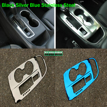 Left Drive Only Car interior gear gearbox decoration cover trim for Chevrolet Holden Equinox Third GE 2018 2019 auto Accessories