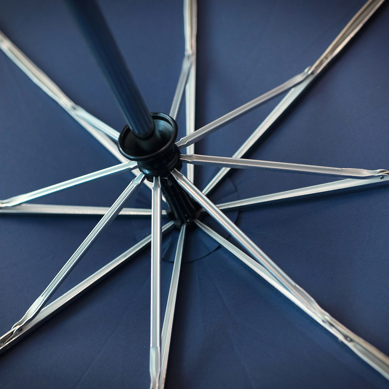 122 cm Große Super Winddicht Holzgriff Regenschirm 3 Falten - Haushaltswaren - Foto 4
