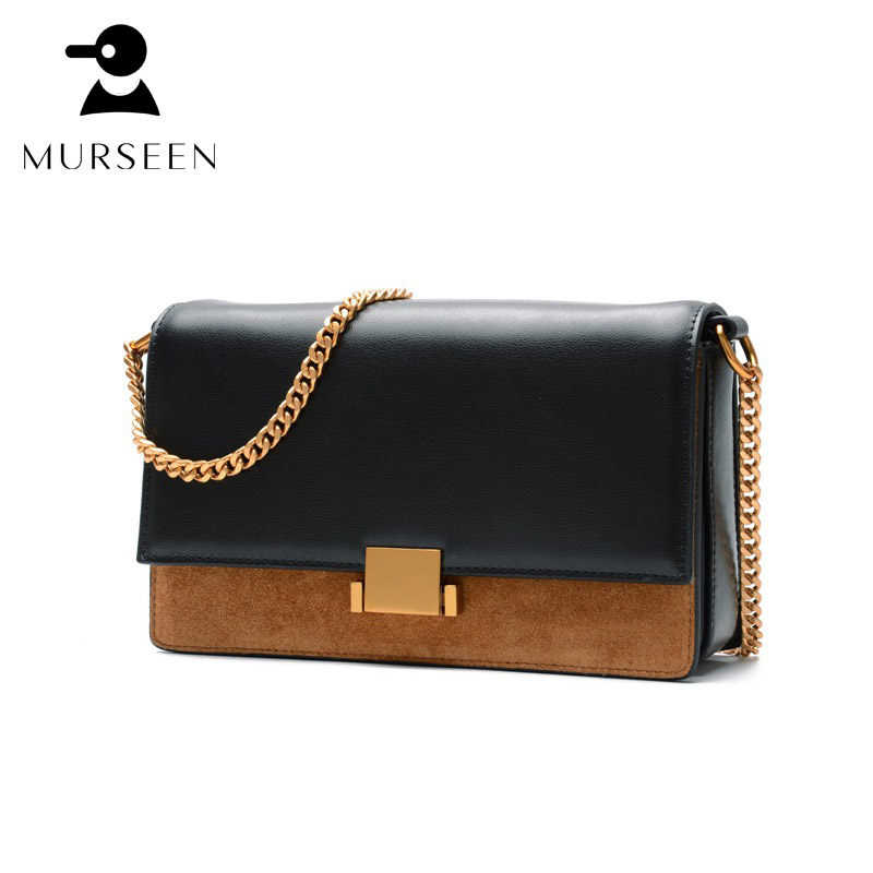 Women Genuine Leather Messenger Bags Luxury Designer Small Shoulder Cross Body Bag Solid High Quality Cowhide Handbags Black S-X 2017 women leather handbag of brands women messenger bags cross body ladies shoulder bag luxury handbags designer s 83