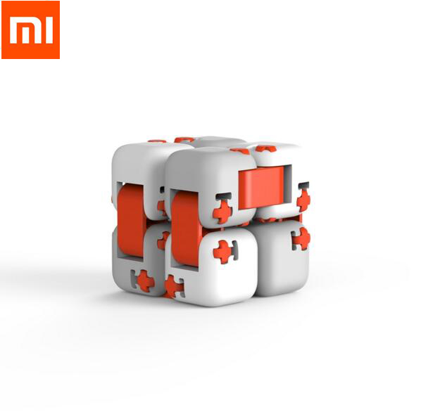 New Xiaomi mitu Cube Spinner Case Smart Fidget Magic Infinity Toys Case Anti Stress Anxiety Juguete smart home cover kids Gift(China)