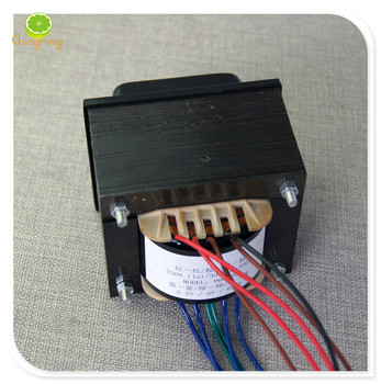 6P3P/EL34 vacuum tube transformer 330V-0-330V Dual group 6.3V /5A single group 5V/4A Electron tube rear stage power amplifier image