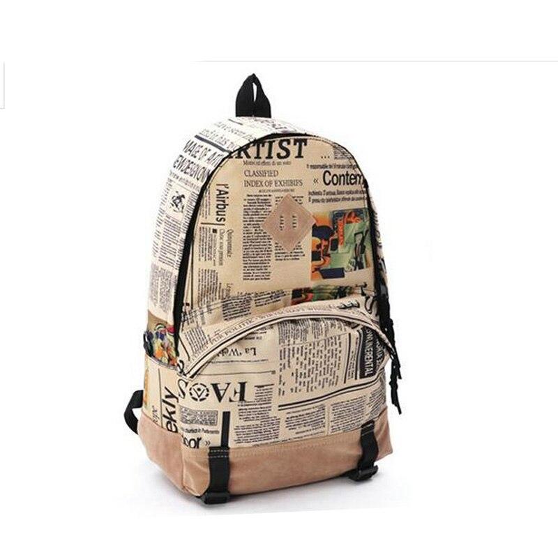 Рюкзак газета купить милые рюкзаки для малышей