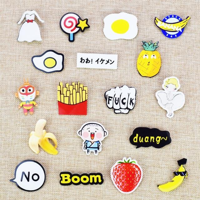 Mix Art Pins