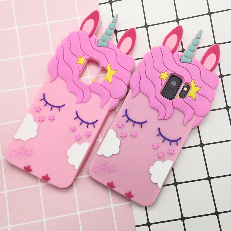 For Samsung S9 Unicorn phone Cases For Samsung Galaxy S9 ...