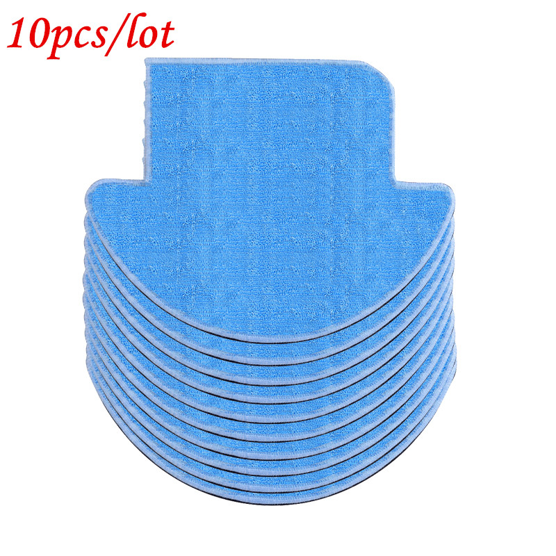 10pcs MOP Cloth for ILIFE V7S pro v7s robot vacuum cleaner parts chuwi ilife Cleaning Cleaner Mop cloths replacement accessories 12pcs lot high quality robot vacuum cleaner wet mop hobot168 188 window clean mop cloth weeper vacuum cleaner parts