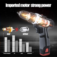 Rechargeable Miniature Multifunction C Tool Drill Electric Screwdriver Manual Drill HVR88