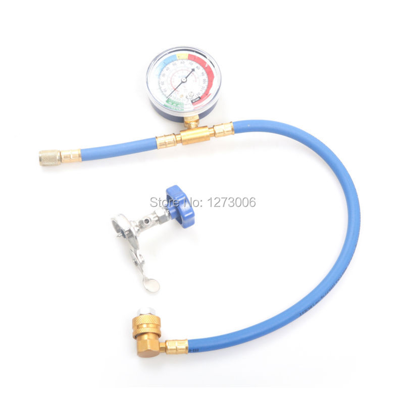 1Pcs R134 R12 Or R22 Refrigerant Recharge Hose A 1 4 Converter Refrigerant Supplementary Universal Car
