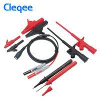 Cleqee P1800B 9 in 1 BNC Electronic Specialties Test Lead Automotive Test Probe Kit Multimeter test probe Alligator clip